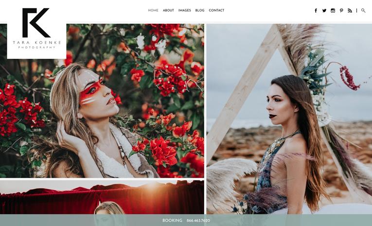 Photography Portfolio Website Templates | PhotoBiz